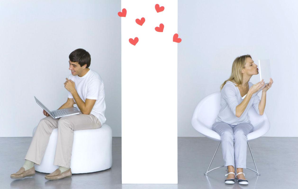 Flirttailu toimii nettideitissäkin.